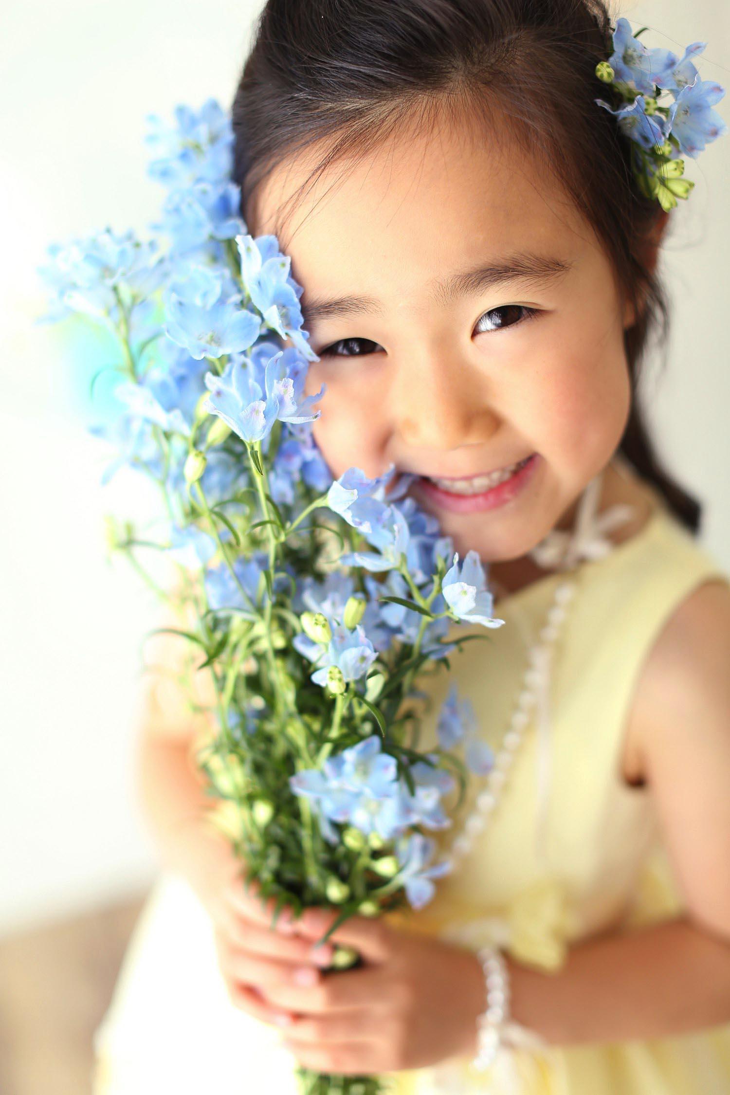 可愛い子供の写真