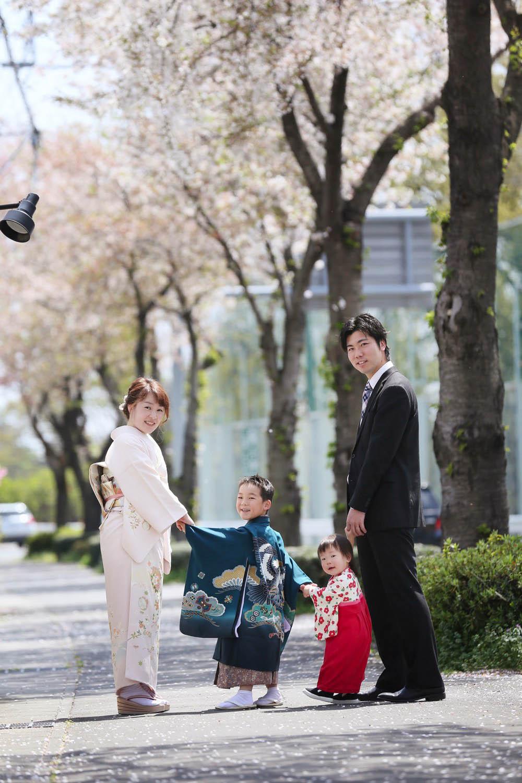 群馬の桜ロケーション撮影
