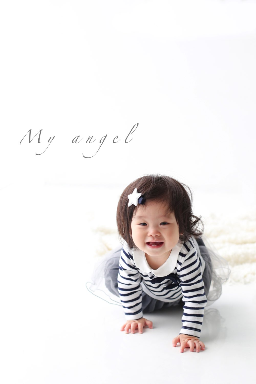赤ちゃんの等身大写真