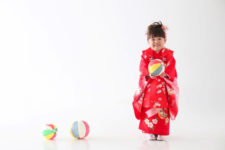 3歳の七五三衣装レンタル