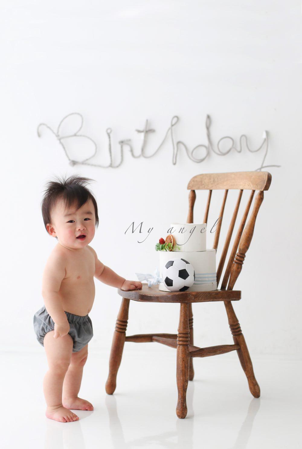 100日祝いの写真撮影