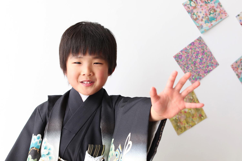 7歳の七五三写真撮影は前橋スタジオリンク